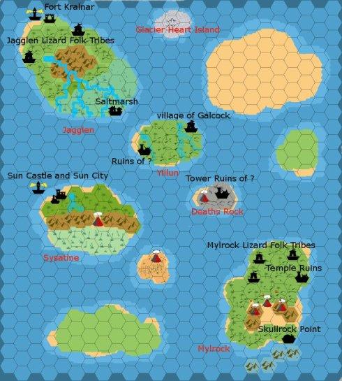 Starting Islands