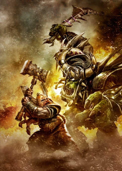 Yes this is a WoW pic, but still looks cool!