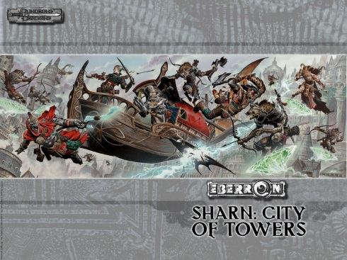 The wonderful action of Eberron in Sharn