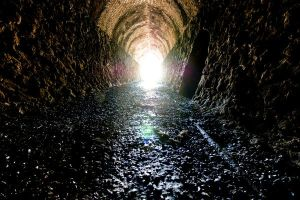 There is no light at the end of the tunnel in the Vornheim sewers...