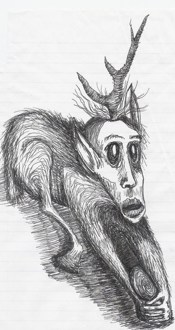 Not your normal beautiful horned beastie