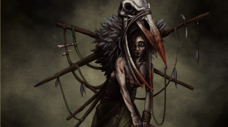 Priestess of the Cult of the Molted Raven