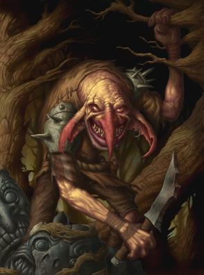 A pleasant chap of the Vile Gut goblin clan
