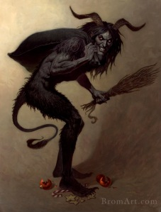 The evil Krampus!