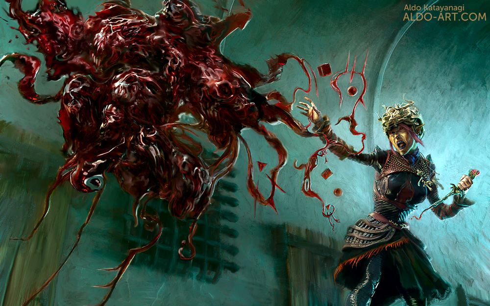 Blood Magic- Sorcerous Origin for Dungeons and Dragons 5e