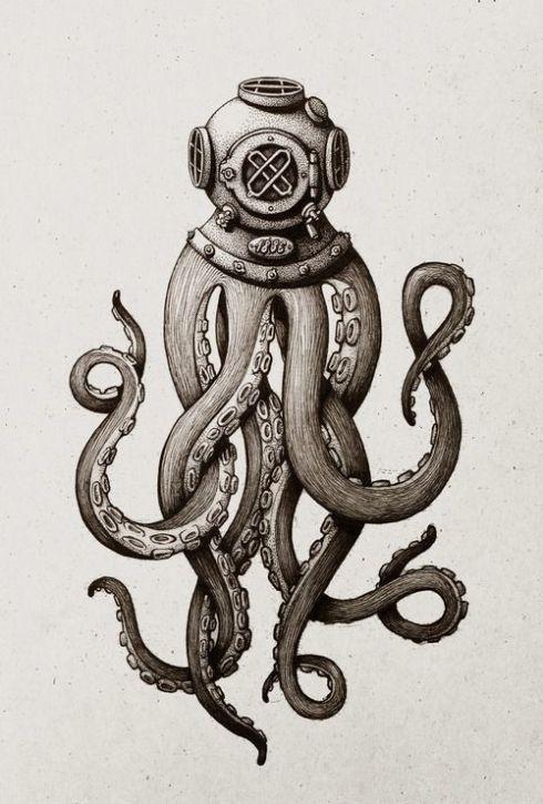 Octopus Helmet