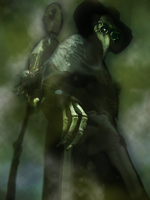 The Plague Doctors of the Scarlet Veil