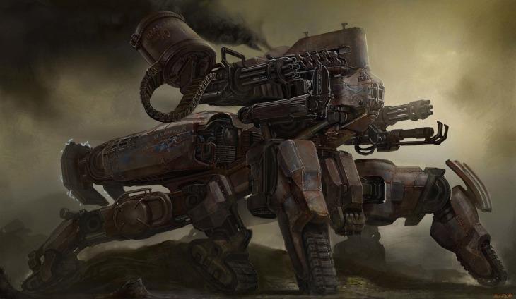 The Tank Mech 1