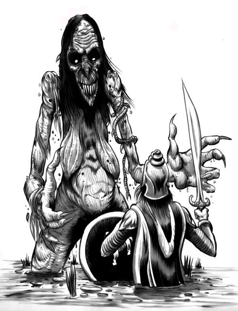 Hubris- Bog Witch