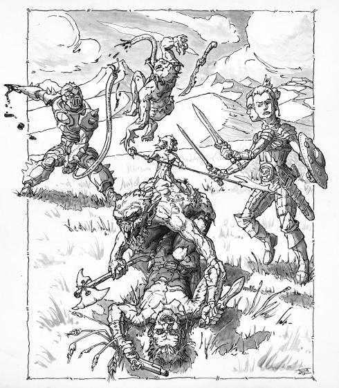 orc battle kickstarter