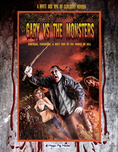 Gary VS the Monsters