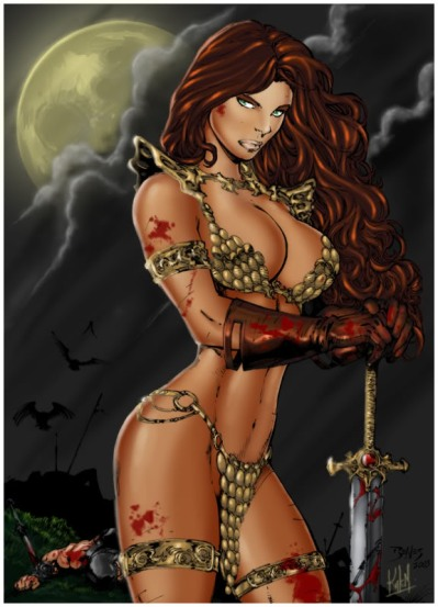 RedSonja_by_edbenes
