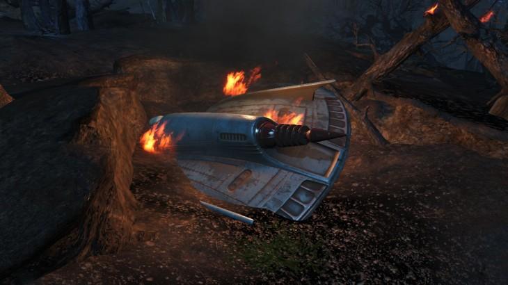 Crashed_UFO_at_night