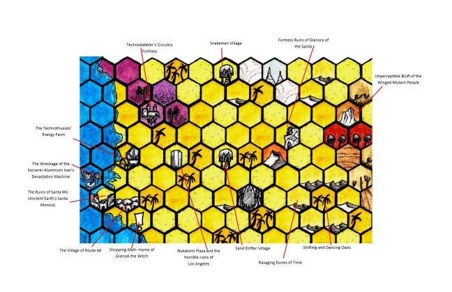 BotRE Map