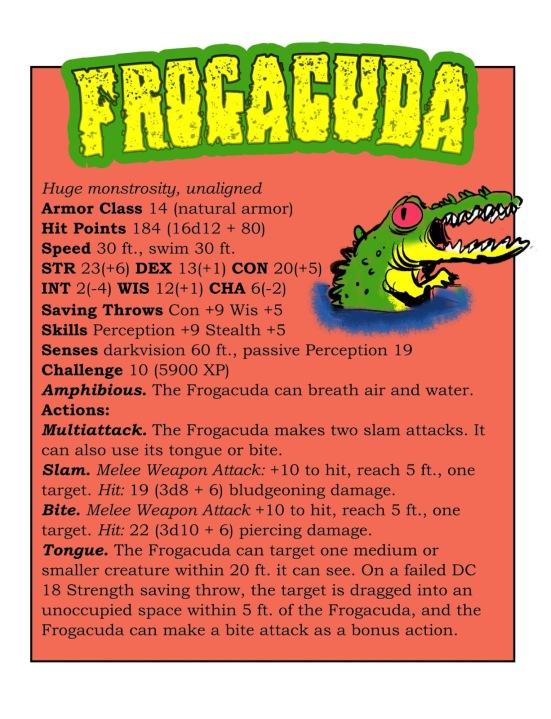 Azurth Digest Frogacuda page
